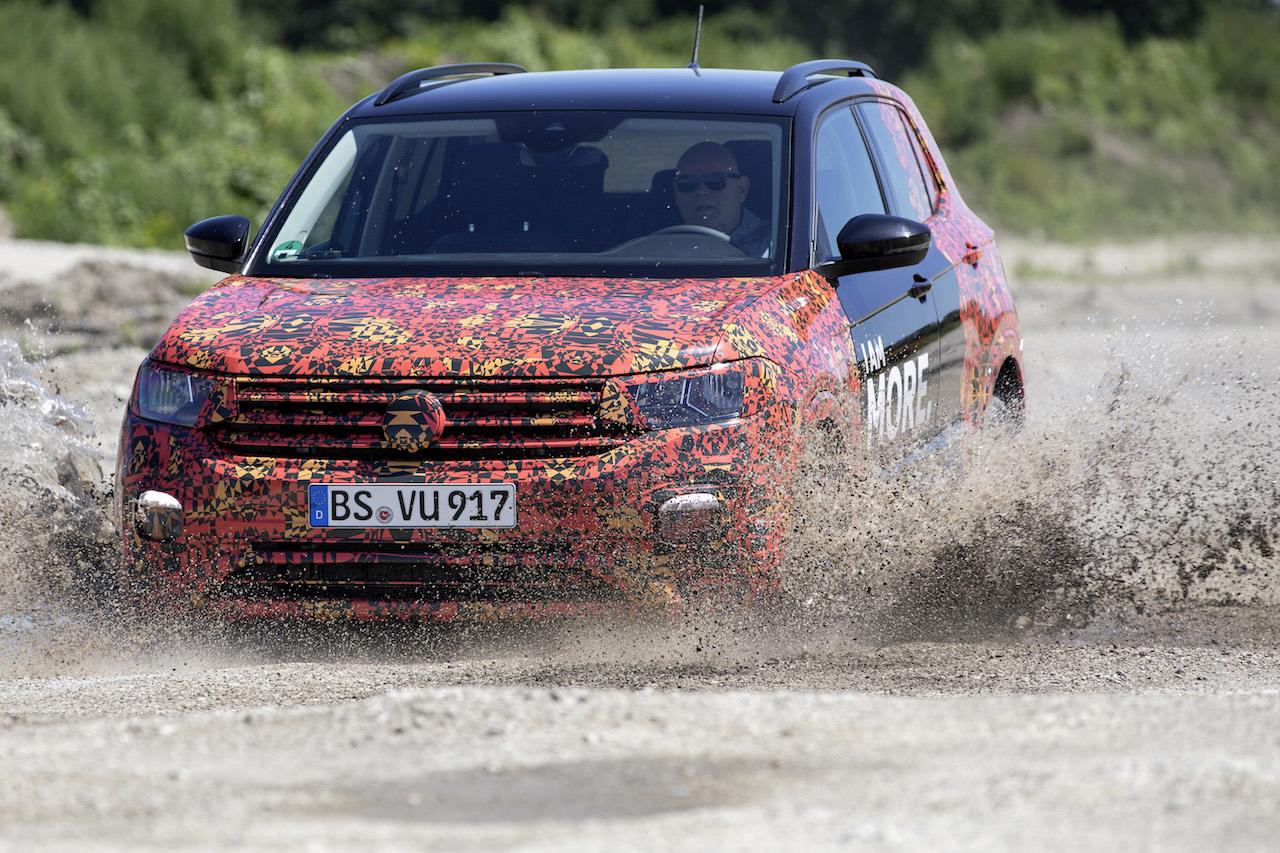 Volkswagen T-Cross Abnahmefahrt