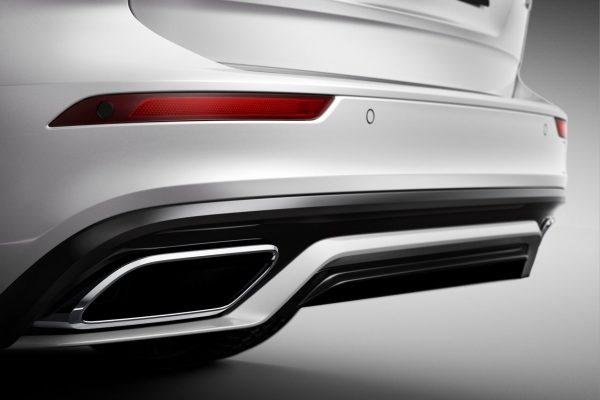 Heckansicht des Volvo V60-R-Design