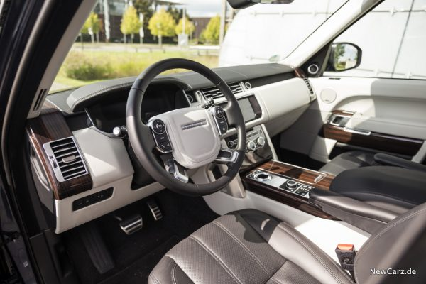 Range Rover SDV8 Interieur