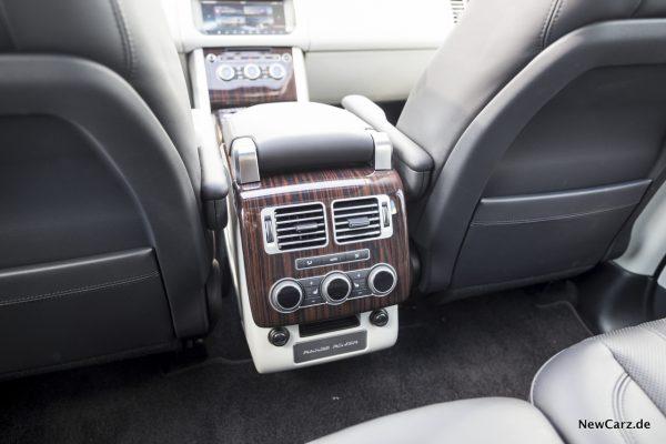 Range Rover SDV8 Klimabedienteil Fond