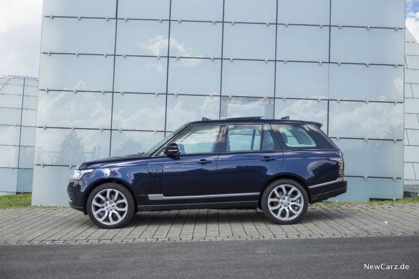 Range Rover SDV8 Seitenansicht