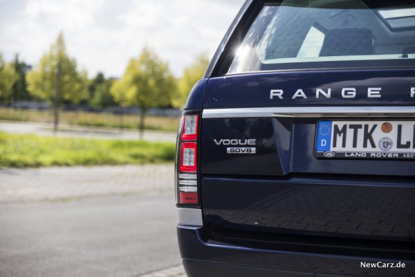 Range Rover SDV8 Plakette