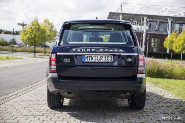 Range Rover Heck