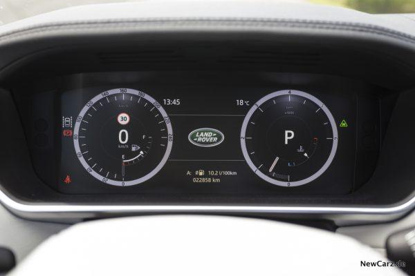 Range Rover SDV8 Cockpit