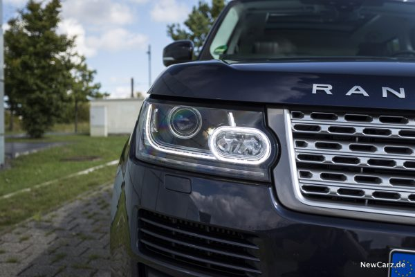 Range Rover SDV8 Lichtsignatur