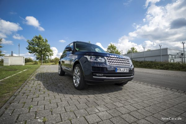 Range Rover SDV8 Frontansicht