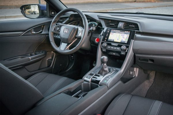 Interieur des Honda Civic 1.6 i-DTEC