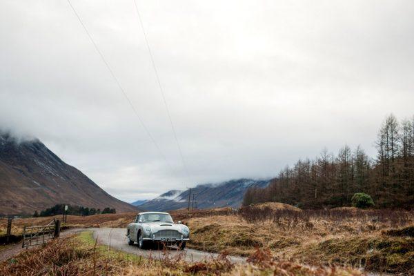 Aston Martin DB5 - Neuauflage des Bond-Klassikers
