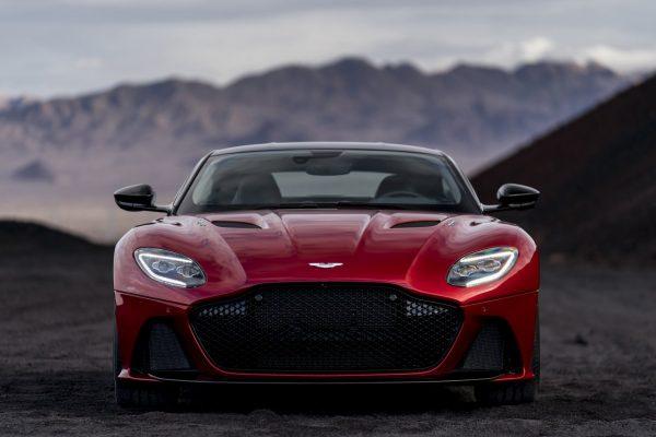 Front des Aston Martin DBS Superleggera