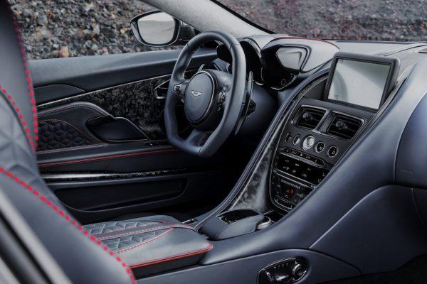 Interieur des Aston Martin DBS Superleggera