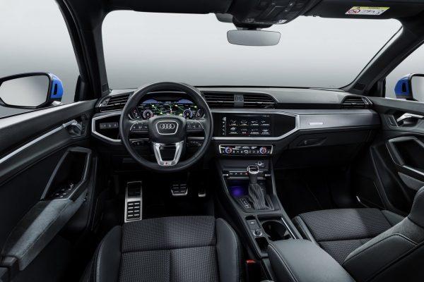 Interieur des Audi Q3