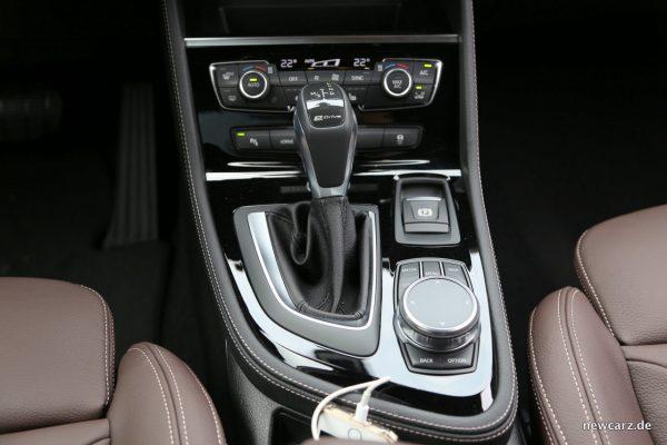 BMW i-Drive im 2er