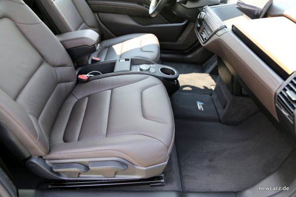 BMW i3S Ledersitze