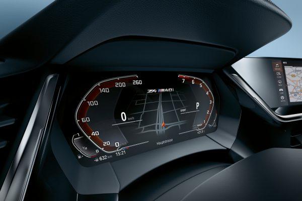 Interieur des BMW Z4 M40i