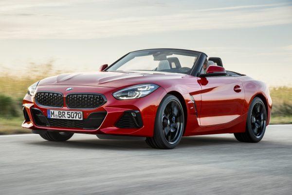 Frontansicht des BMW Z4 M40i
