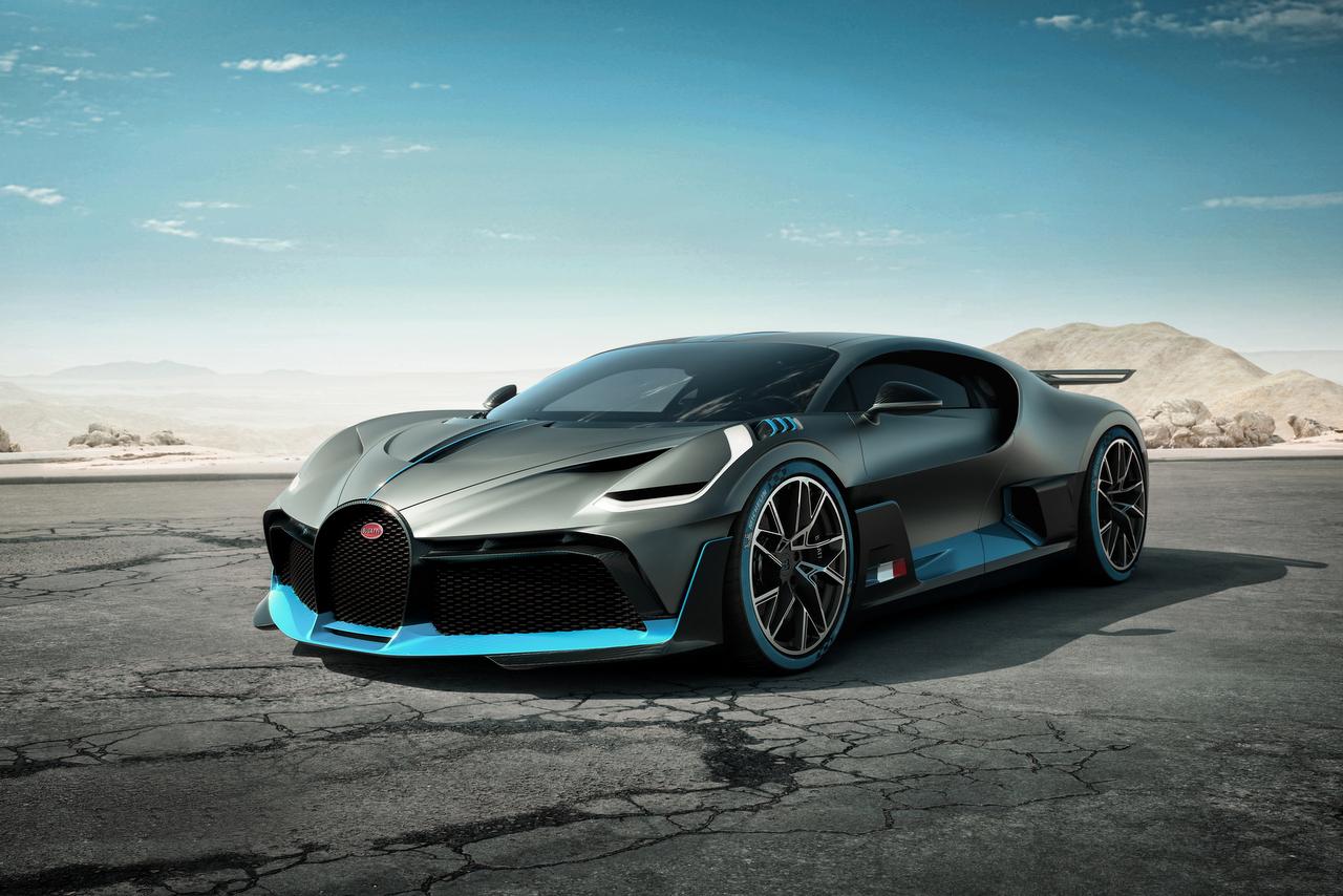 Weltpremiere des Bugatti Divo