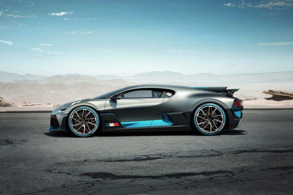 Seitenansicht des Bugatti Divo