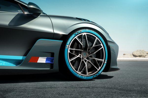 Bremskühlung des Bugatti Divo