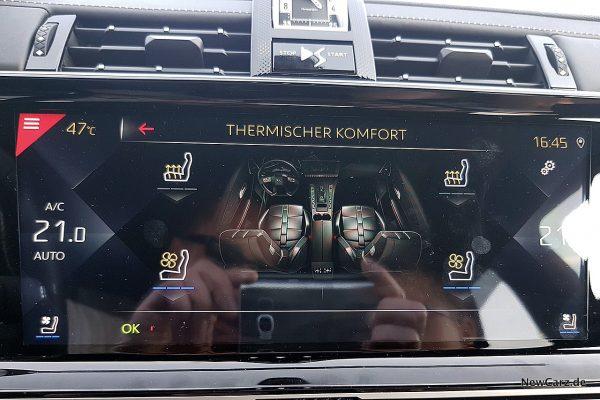 DS7 Crossback Klimaautomatik
