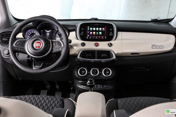 Interieur des Fiat 500X