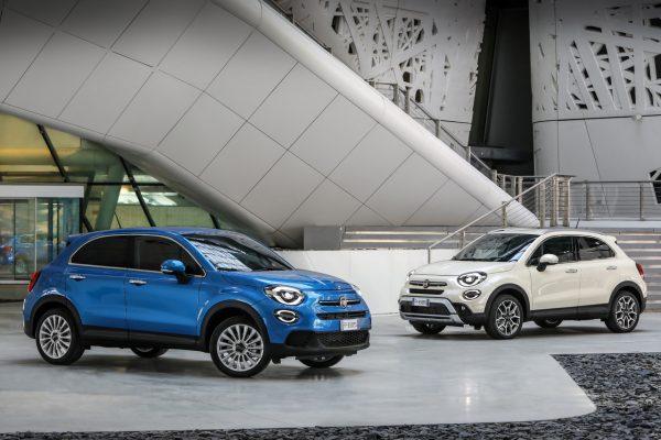 Modellfamilie des Fiat 500X