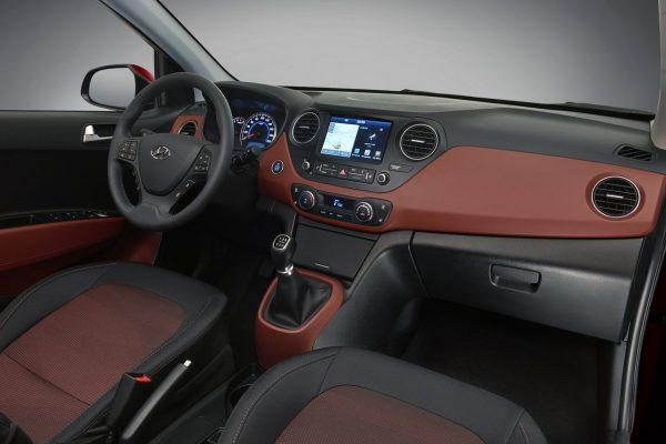 Interieur des Hyundai i10