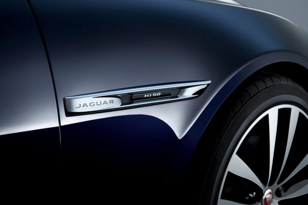 Luftauslässe des Jaguar XJ50