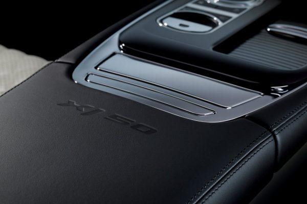 Mittelarmlehne des Jaguar XJ50