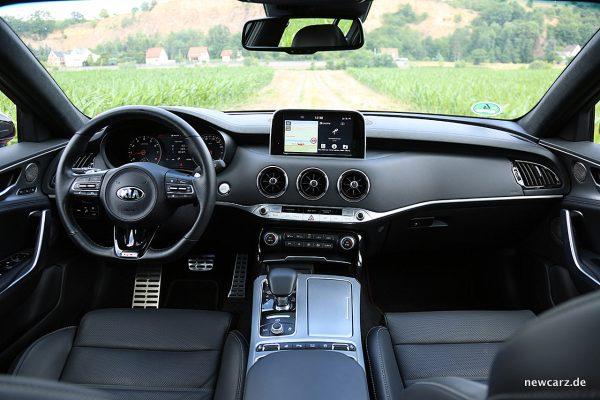 Kia Stinger GT Armaturenbereich