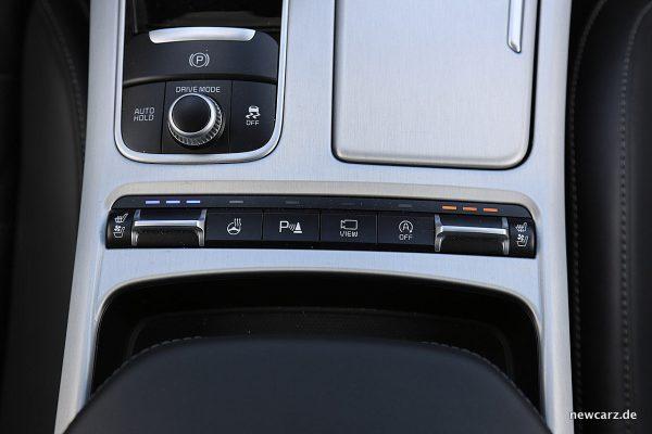 Kia Stinger GT Sitzklimatisierung