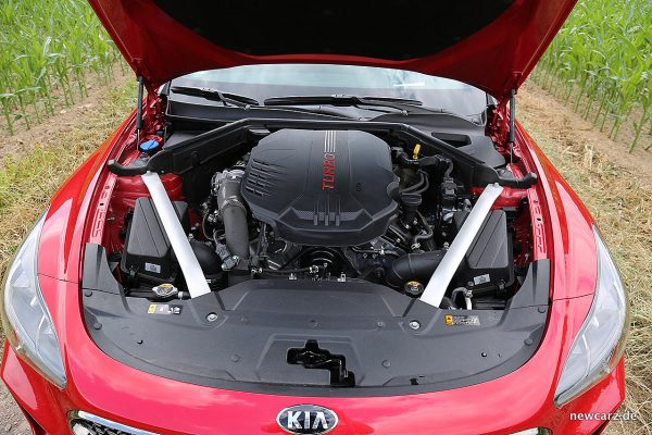 Kia Stinger GT Motorraum
