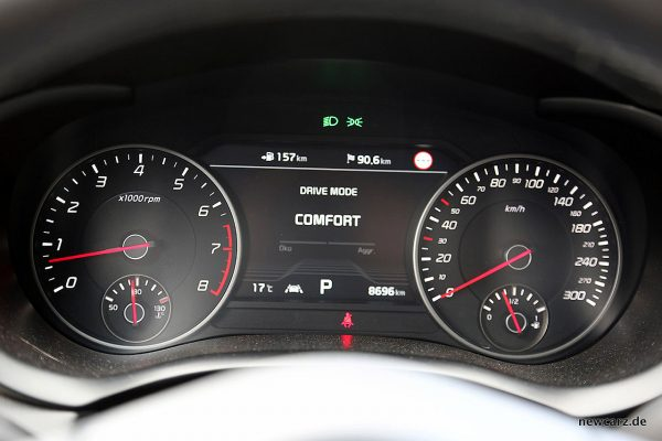 Kia Stinger GT Fahrmodus Comfort