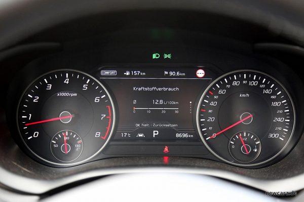 Kia Stinger GT Verbrauch