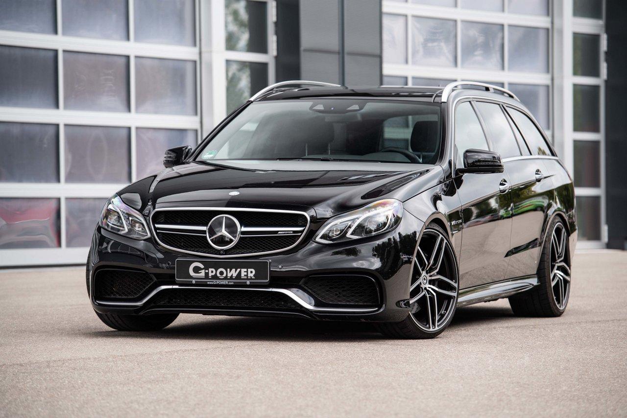 Der Mercedes-Benz E63 S AMG von G-Power