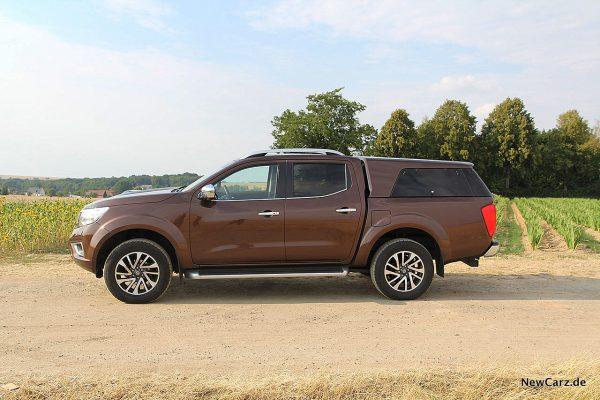 Nissan Navara Seitenansicht