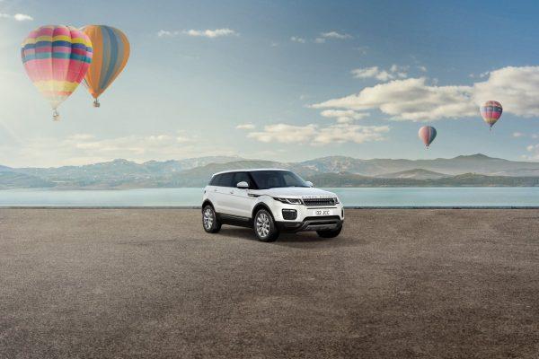 Der Range Rover Evoque SkyView