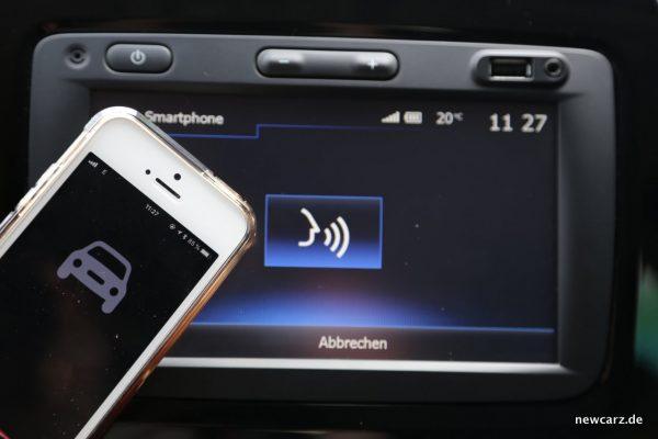 Renault Captur Siri Sprachsteuerung