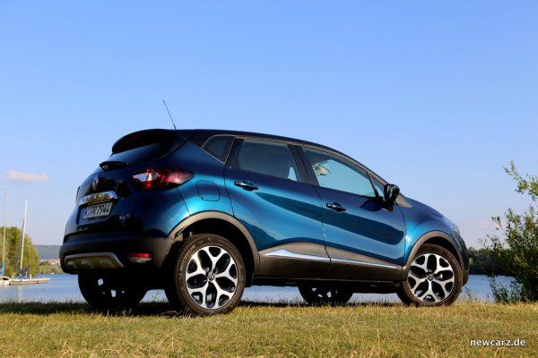 Renault Captur Seite Lifestyle