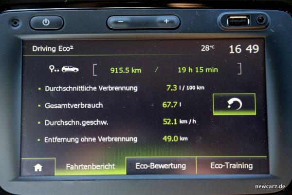 Renault Captur Eco Modus
