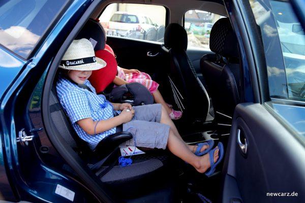 Renault Captur Familie Kinder