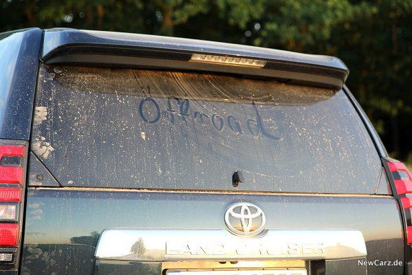 Toyota Land Cruiser Heckscheibe