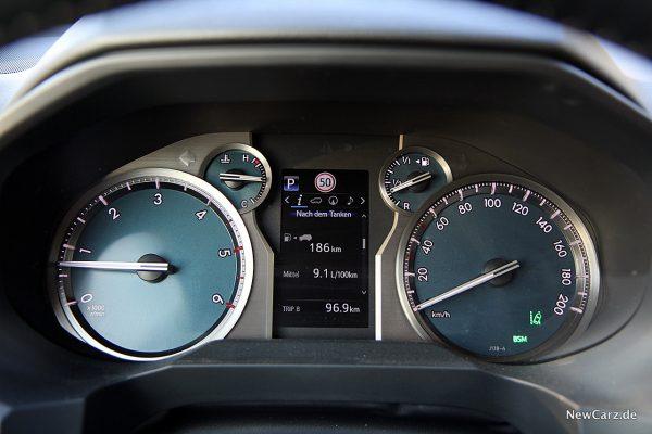 Toyota Land Cruiser Verbrauch