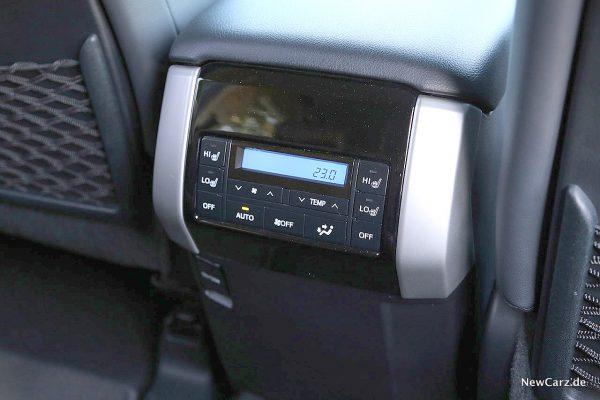 Toyota Land Cruiser Klima hinten