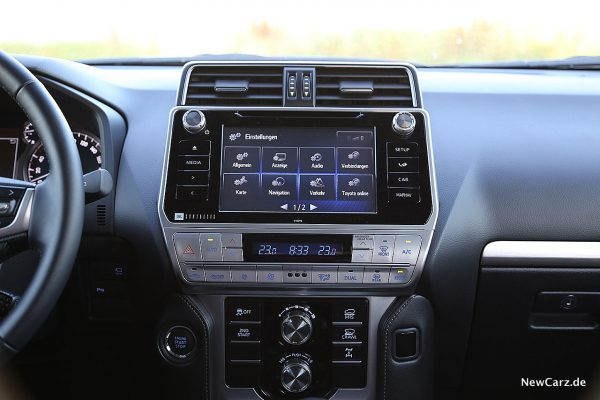 Toyota Land Cruiser Touchscreen