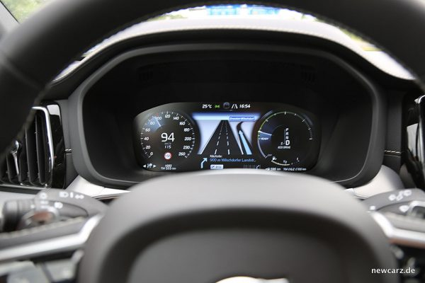 Volvo XC60 Cockpitdisplay