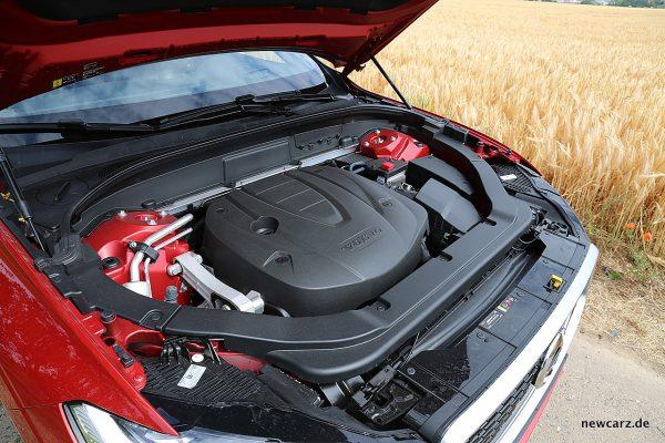 Volvo XC60 Motorraum