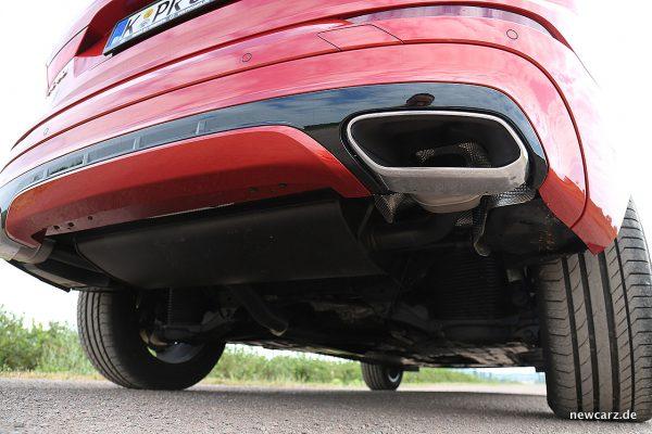 Volvo XC60 Abgasendrohre