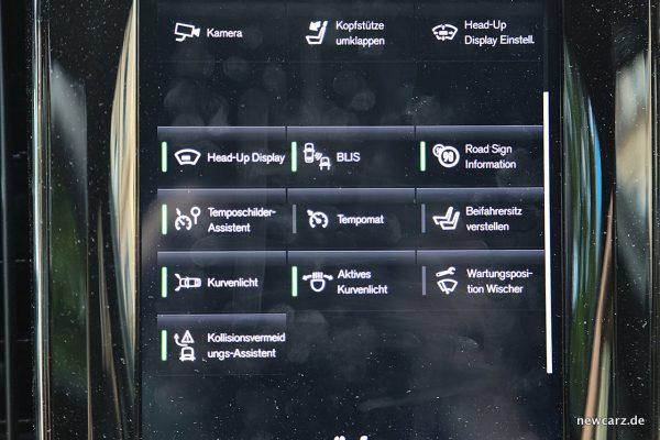 Volvo XC60 Touchscreen