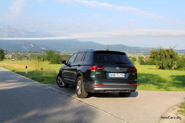VW Tiguan Allspace schräg hinten