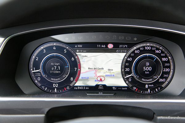 VW Tiguan Allspace Verbrauch